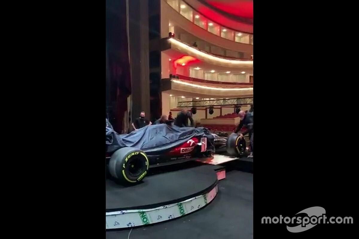 """بثٌ مباشر: حدث الكشف عن سيارة ألفا روميو """"سي41"""""""