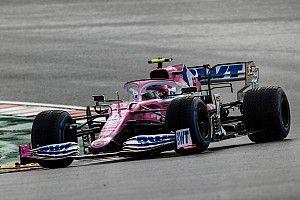Kapotte voorvleugel zat Stroll dwars tijdens GP Turkije