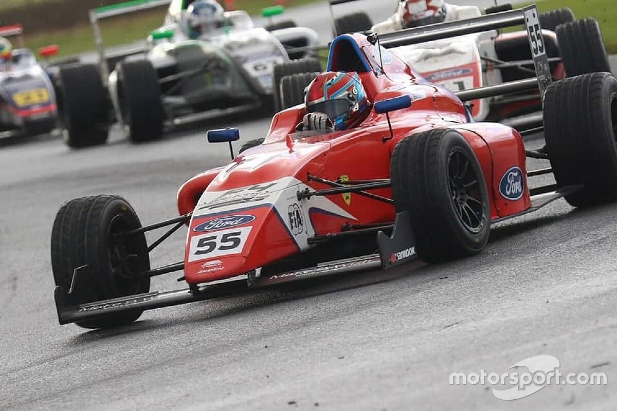 Biliński ósmy w British F4