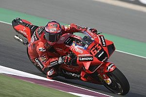 "Bagnaia slams ""unacceptable"" Doha MotoGP race mistake"