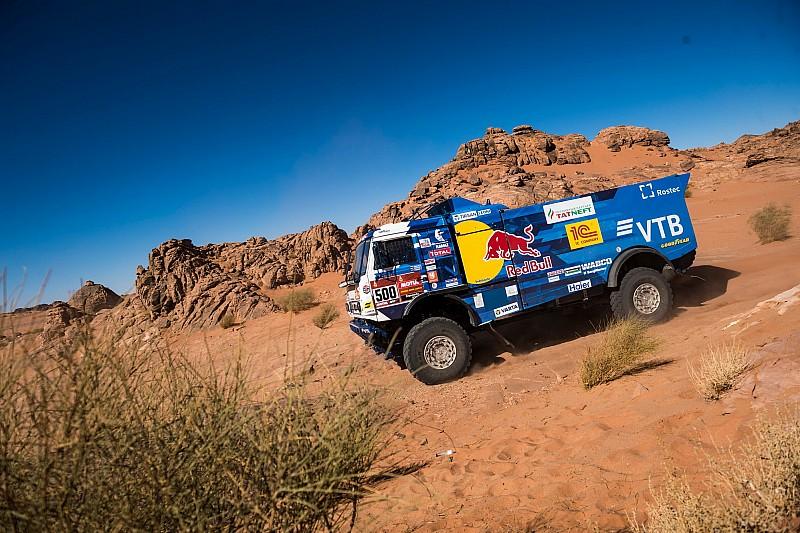 Kamaz-kopman Nikolaev verlaat Dakar met technische problemen