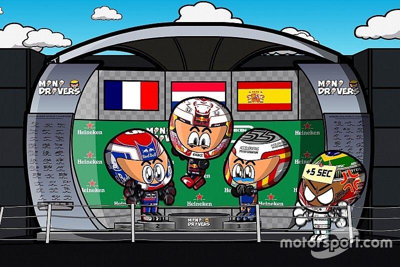 Vídeo: el disparatado GP de Brasil de F1, por MiniDrivers
