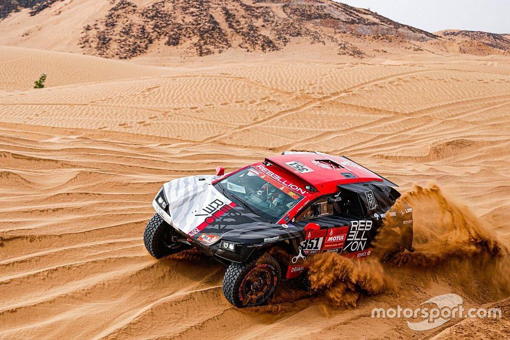 """Dumas revient sur le Dakar """"beaucoup mieux préparé"""" qu'en 2020"""