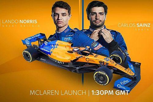 Así fue la presentación del McLaren 2020