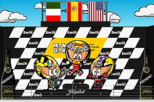 Minibikers vintage: el decisivo GP de Portugal 2006