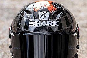 Fotos: Lorenzo recupera el 'X fuera' en el casco del regreso a Yamaha