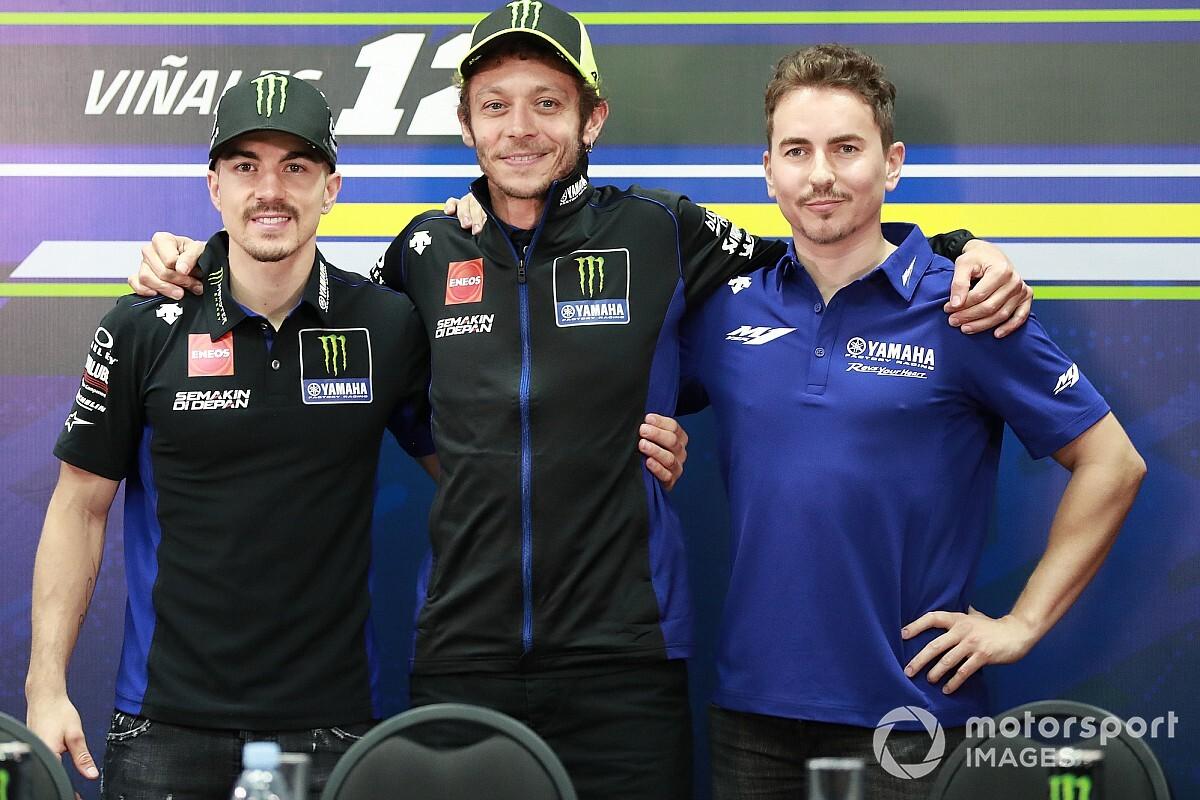 Rossi sok hasonlóságot lát Lorenzo, és a saját Yamahás visszatérése között
