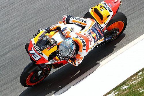 La Honda ferma Alex Marquez per sicurezza