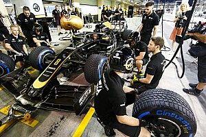 Grosjean rijdt in Abu Dhabi met oude vloer van wintertest