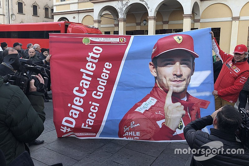 """Leclerc: """"Non posso ritenermi il pilota da battere a 22 anni"""""""