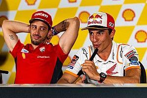 Dovizioso está surpreso por acordo de quatro anos entre Márquez e Honda