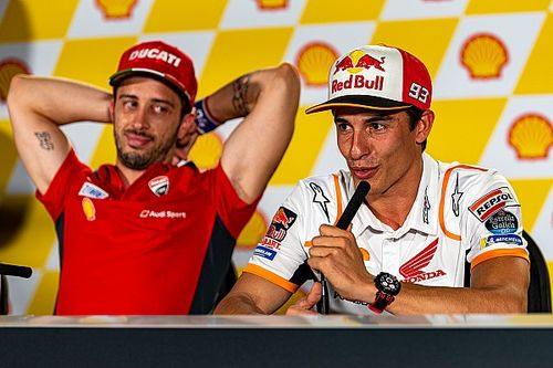Dovizioso shocked by four-year Marquez Honda deal