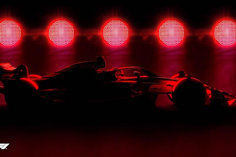 Формула 1 представила тизер машины 2021 года