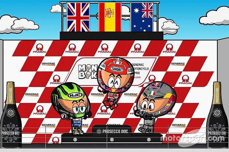 Vídeo: el GP de Australia de MotoGP, por MiniBikers