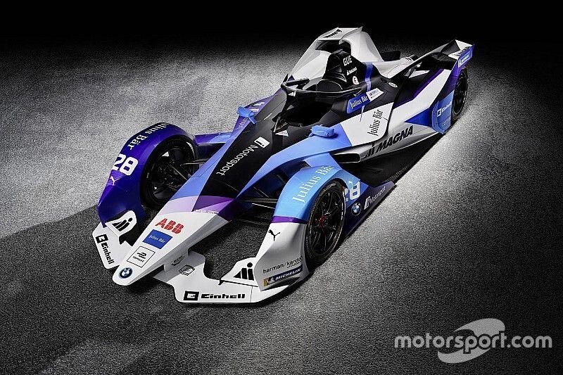 BMW presenta su decoración para la temporada 2019-2020 de Fórmula E