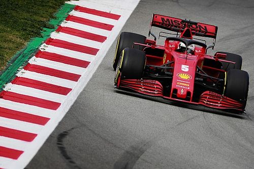 Vettel tops second morning of testing despite spin