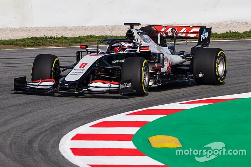 Videón Grosjean első köre a Haas új F1-es autójával: videó