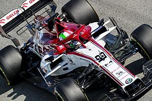 """Giovinazzi: """"C39 più facile da guidare, ma aspetto le novità"""""""