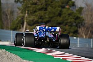 """Pérez csak remélni tudja, hogy """"klón olyan gyors"""", mint a Mercedes"""