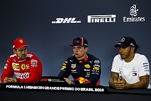 Vettel, Hamilton surprised by Red Bull's straightline speed