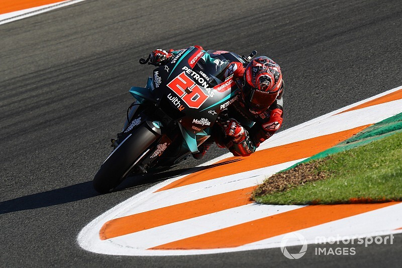 Куартараро стал быстрейшим и в третьей тренировке Гран При Валенсии