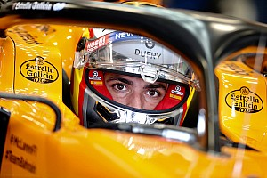 "Sainz vows to take ""maximum attack"" approach in Brazil"