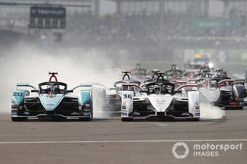 Mexico City E-Prix: Evans wins wild race for Jaguar
