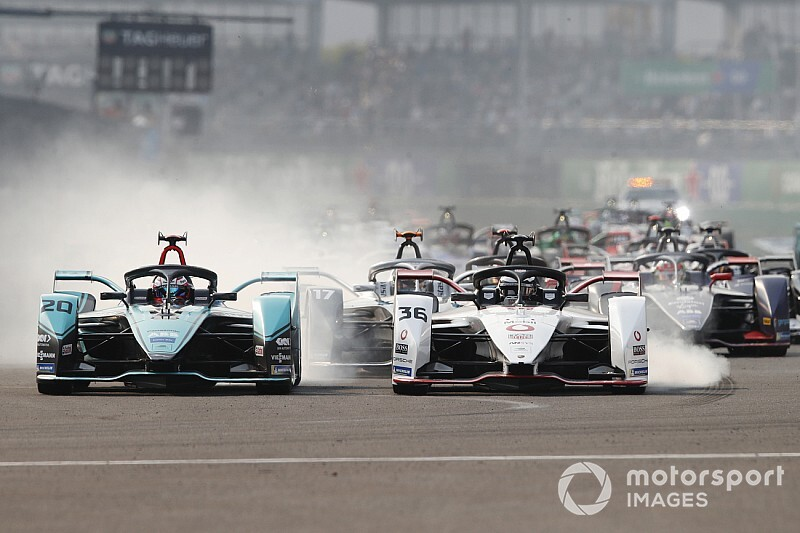 Mexico City E-Prix: Evans wins wild race for Jaguar