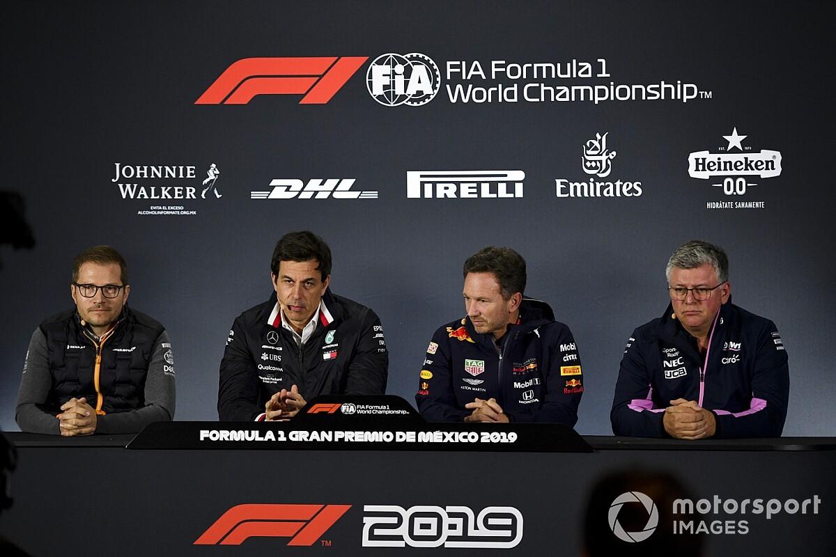 Principais equipes da F1 queriam que regras de 2021 fossem adiadas