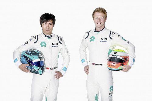 Il team NIO sceglie Ma Qing Hua e Oliver Turvey per il 2019/2020