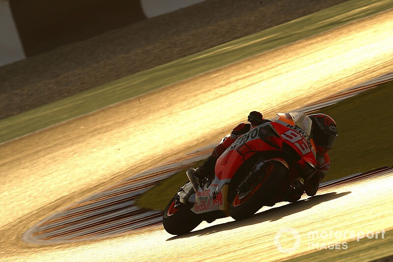 Fotogallery MotoGP: la prima giornata dei test in Qatar