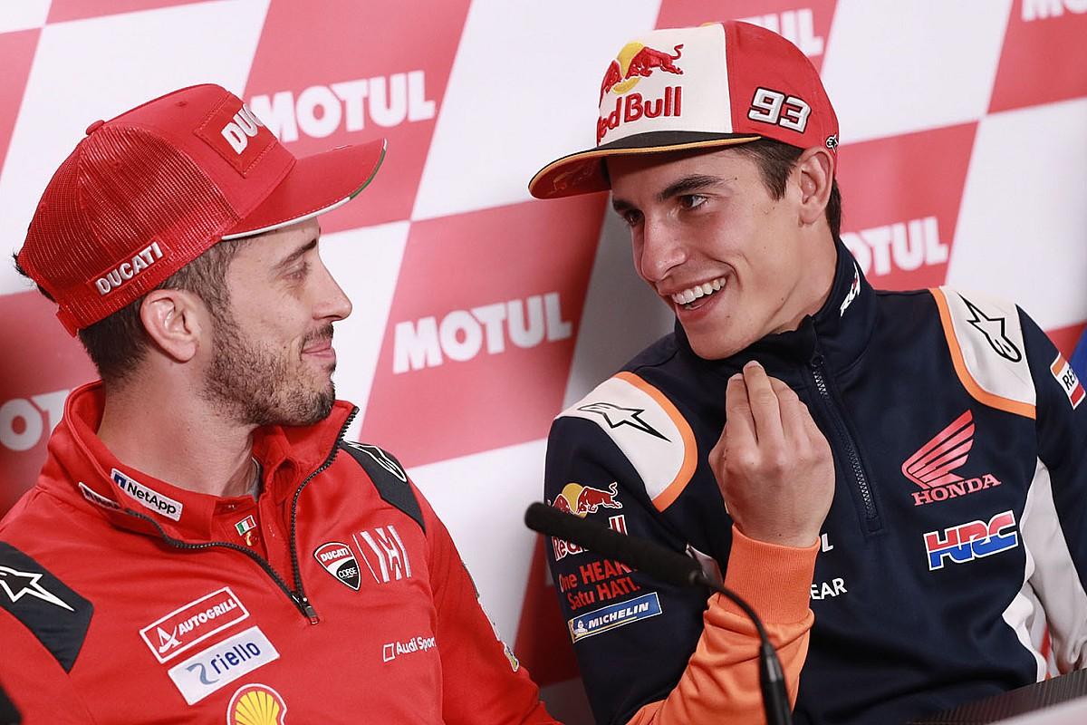 Honda: se Marquez si riopera c'è una chance per Dovizioso?