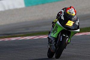 Moto3, Valencia, Libere 2: Masia guida il poker spagnolo