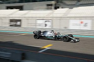 A Mercedes Russell-lel tesztelte a 18 colos gumikat