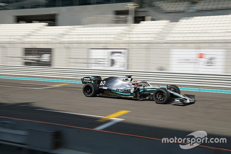Russell logra 100 vueltas con los nuevos Pirelli de F1