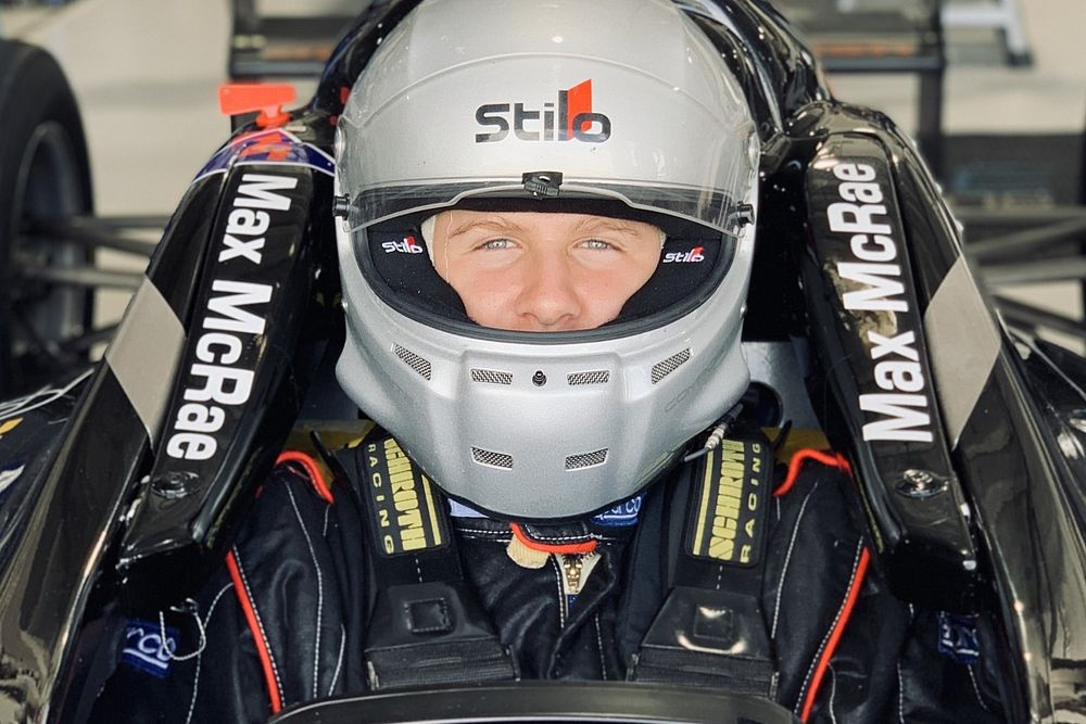 McRae makes impressive circuit racing debut