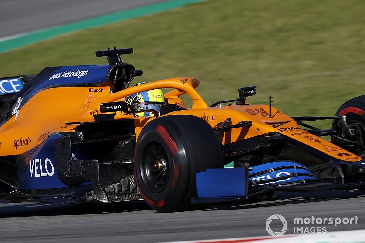 Norris: Weinig voordeel voor simracers bij start F1-seizoen