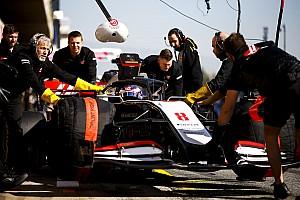Grosjean explique sa sortie de piste à Barcelone
