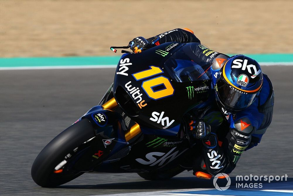 Moto2, Jerez, Libere 2: Marini comanda ancora, insegue Bezzecchi