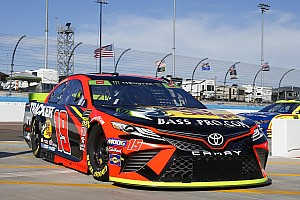 Why Truex raced 'old car' at Phoenix with 'half a team'
