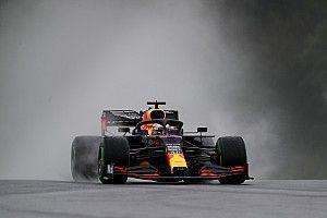 Verstappen start in Hongarije ondanks crash op weg naar grid