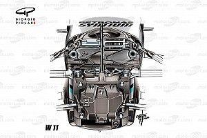 Como a Mercedes desenvolveu seu novo sistema de direção na F1