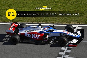 Piola racconta le Formula 1 2020: Williams FW43