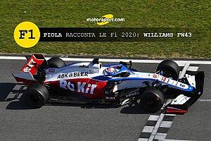 Piola racconta le Formula 1 2020: Williams FW43