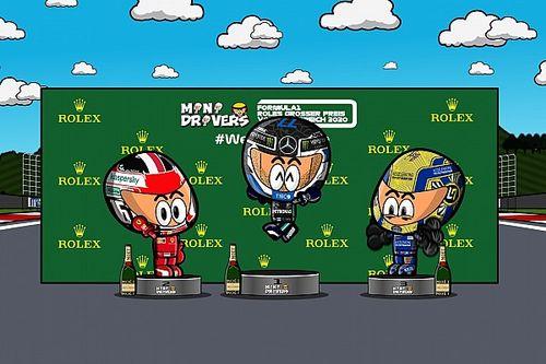 Vídeo: el caótico GP de Austria 2020 de F1, por MiniDrivers