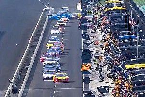 VIDEO: Mecánico lesionado en NASCAR es dado de alta