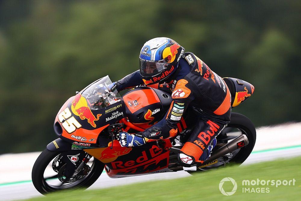 Red Bull Ring Moto3: Pole pozisyonu Fernandez'in, Deniz 10. oldu!
