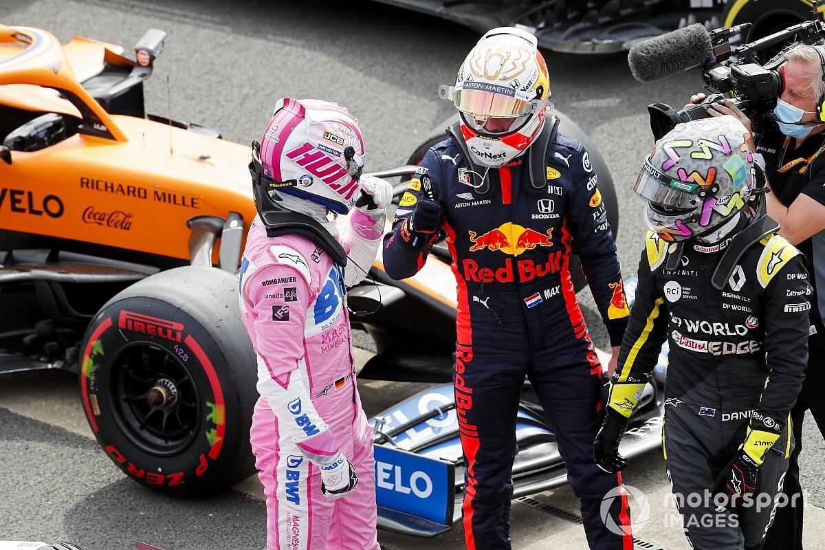 Verstappen verwacht in race geen kind te hebben aan Racing Point