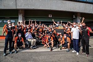 "KTM says first MotoGP race win didn't come ""by accident"""