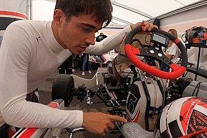 Újabb remek onboard videók Leclerc gokartozásáról